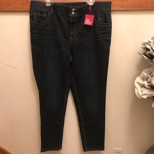 2f7090713b907 Lane Bryant Skinny Jean w Tighter Tummy Technology